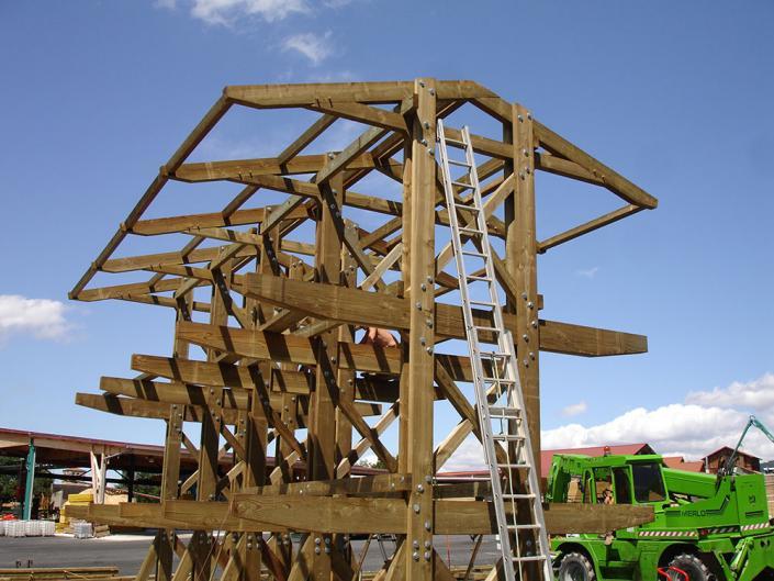 Fabrication de rack de rangement à Dore l'Eglise dans le Puy-de-Dôme en Auvergne