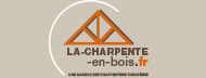 Logo La charpente en bois - fabricant de charpente industrielle bois et charpente traditionnelle bois en Auvergne et Rhône-Alpes